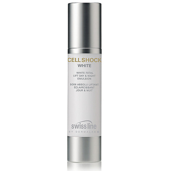 Swissline CELL SHOCK WHITE White-Total Lift Day & Night Emulsion