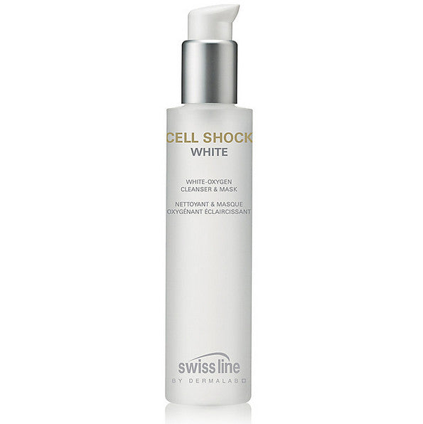 Swissline CELL SHOCK WHITE White-Oxygen Cleanser & Mask