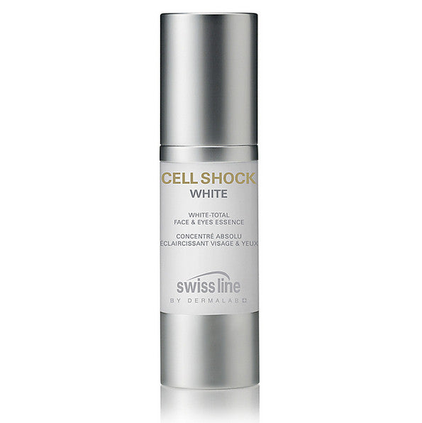 Swissline CELL SHOCK WHITE White-Total Face & Eyes Essence