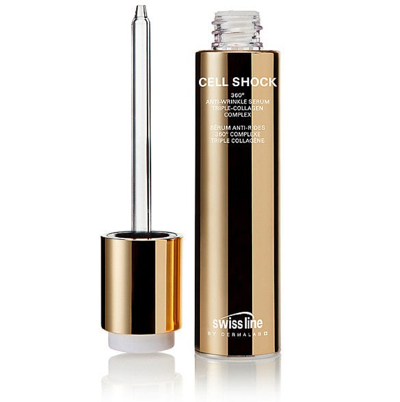 Swissline CELL SHOCK 360º Anti-Wrinkle Serum Triple Collagen Complex