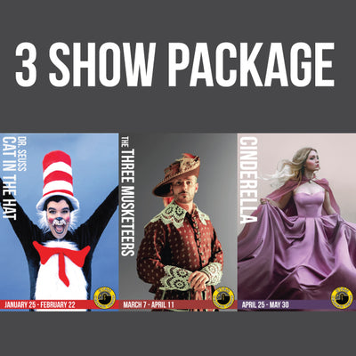 3 Show Package 2019-20 Season