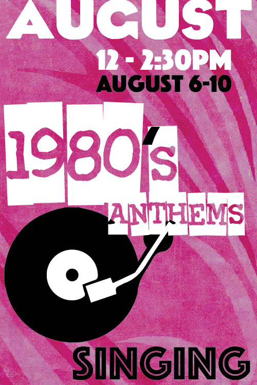 1980's Anthems