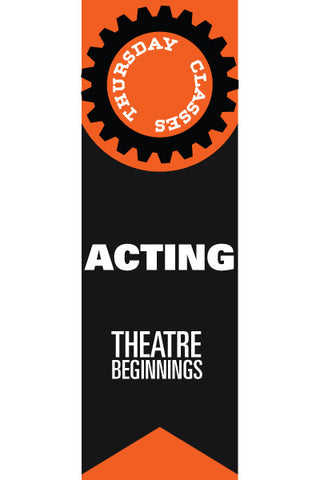 Thursday Acting Classes 2016-2017