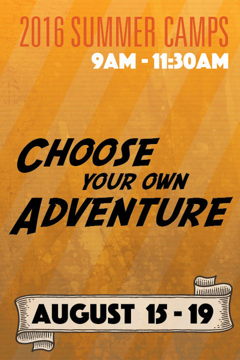 Choose Your Own Adventure Camp