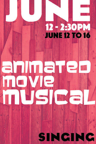 Animated Movie Musical