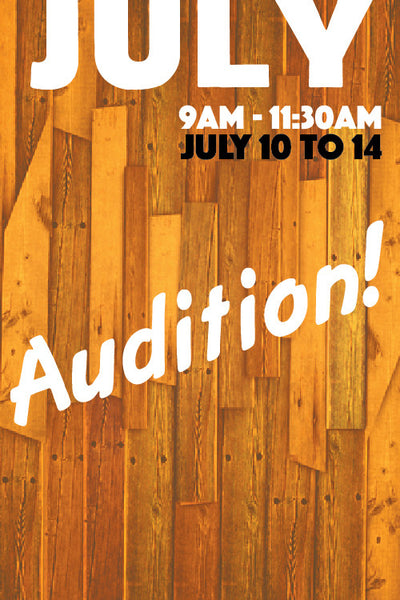 Audition!