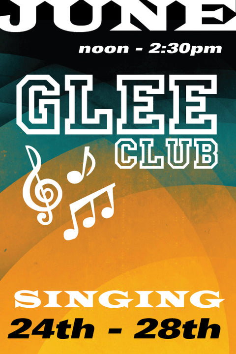 Glee Club June 24 to 28 2019