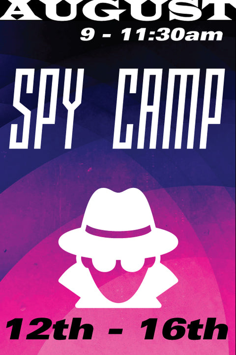 Spy Camp August 12-16 2019