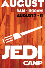 Jedi Camp (August session)