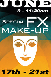 Special Effects Makeup June 17 to 21 2019