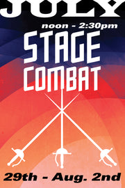 The Three Musketeers: Stage Combat July 29 to August 2 2019