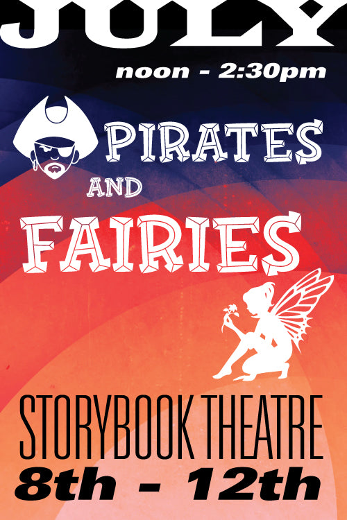 Pirates and Fairies July 8 to 12 2019