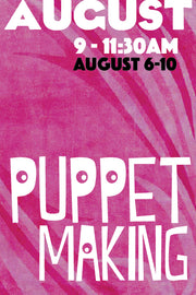 Puppet Making (August Session)