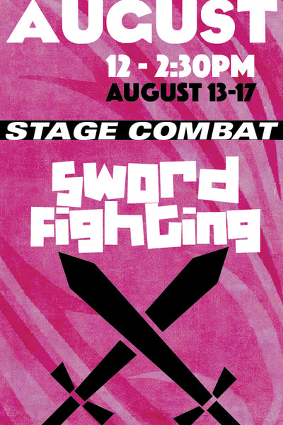 Stage Combat: Sword Fighting