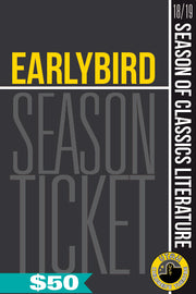 EARLYBIRD Season Tickets 2018-19