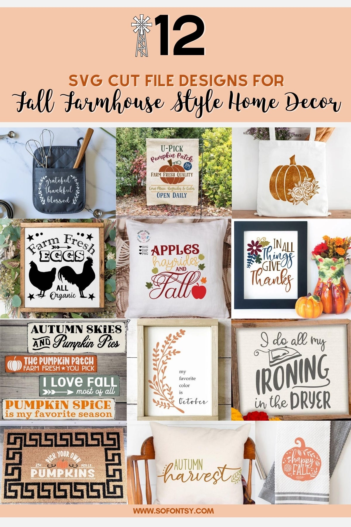 19+ 12 Fall Files – Autumn Bundle SVG