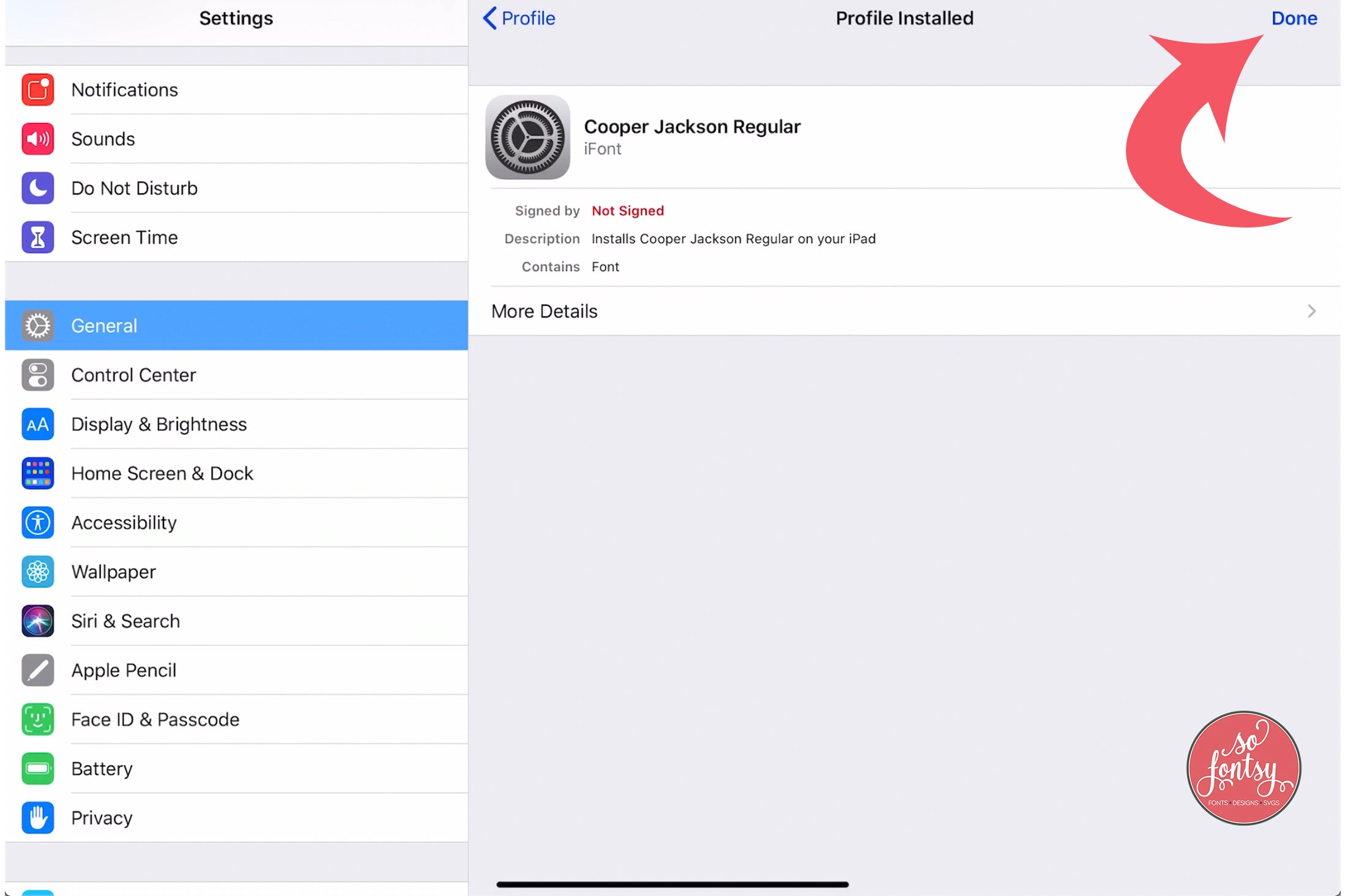 How to Download & Open Fonts on the iPad