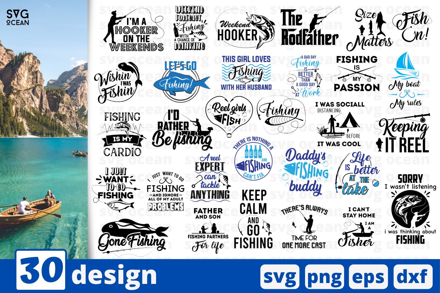 Download 30 Fishing Quotes Cricut Svg So Fontsy