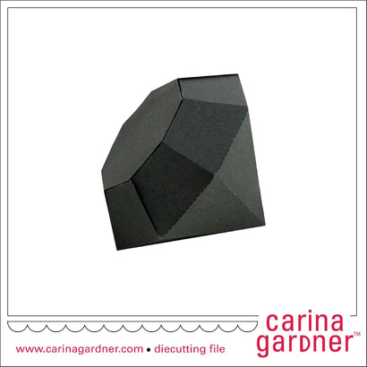 3D Diamond SVG Carina Gardner