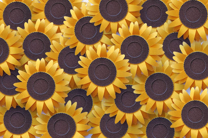 3D Layered Sunflower SVG SVG Designed by Geeks