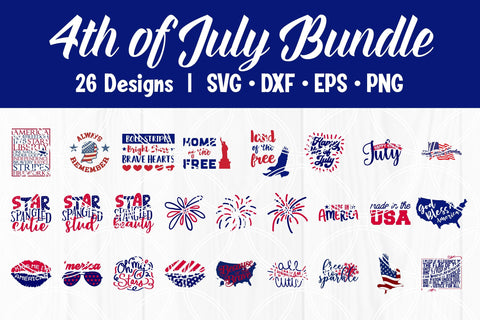 4th of July SVG Bundle SVG SavanasDesign