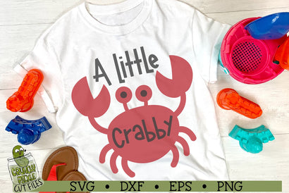 A Little Crabby Beach Crab SVG Cut File SVG Crunchy Pickle