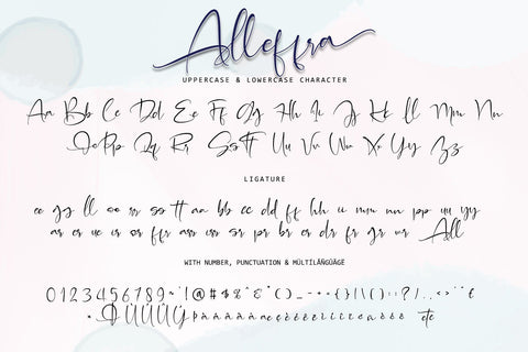Alleffra With Monogram Font Letterara