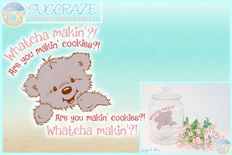 Are You Making Cookies Cute Mixer Cookie Jar Decal Sticker SVG SVG SVGcraze