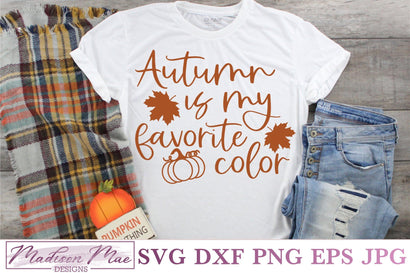 Autumn Is My Favorite Color, Autumn SVG SVG Madison Mae Designs