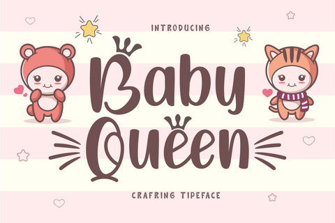 Baby Queen Font Graphicxell