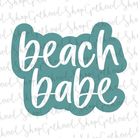 Beach Babe SVG SVG ShopGathered