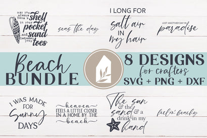 Beach Bundle SVG | Summer Bundle SVG SVG LilleJuniper