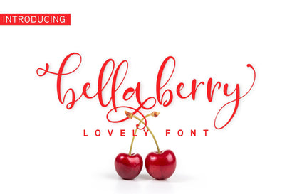 Bella Berry Font Jun Creative