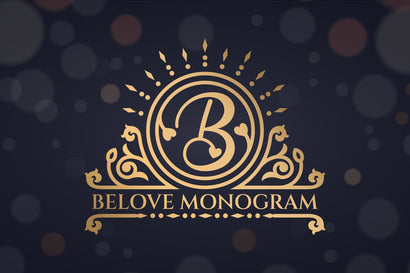 Belove Monogram Font Font Graphicxell