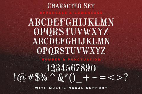 Black Rose - Haunted Display Font Font StringLabs