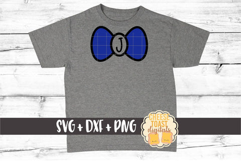 Bow Tie Monogram - Solid - Valentine's Day SVG PNG DXF Cutting Files SVG Cheese Toast Digitals