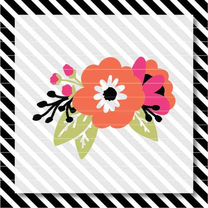 Bright Floral Sprig SVG North Eighty
