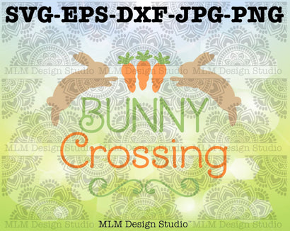 Bunny Crossing SVG MLM Design Studio
