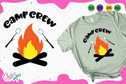 Camp crew summer Svg Cut Files SVG Cute files