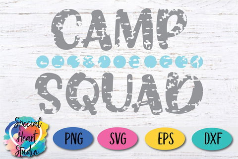 Camp Squad SVG Special Heart Studio