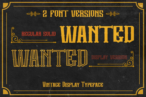 Candrika - Vintage Label Display Typeface Font PutraCetol Studio