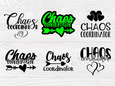 Chaos Coordinator SVG, Mom Life Svg, Svg Cut Files SVG TonisArtStudio