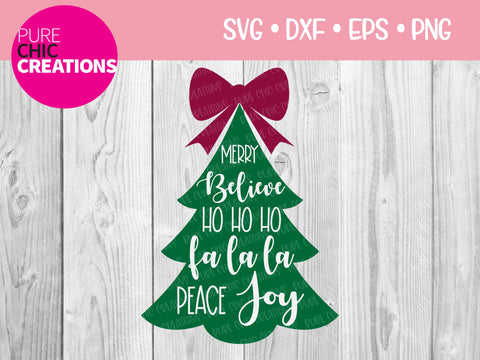 Christmas Blurbs - Cricut - Silhouette - svg - dxf - eps - png - Digital File - SVG Cut File - Christmas SVG - Christmas clipart - clipart SVG Pure Chic Creations