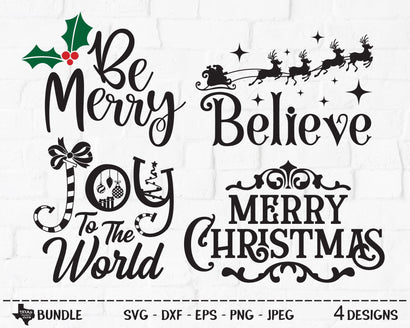 Christmas Bundle | Christmas SVG SVG Texas Southern Cuts