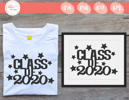 Class Of 2020 - SVG, PNG, DXF, EPS SVG Elsie Loves Design
