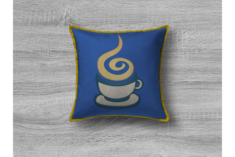 Coffee Cup. Embroidery/Applique DESIGNS Digital Creations Art Studio