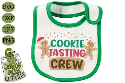 Cookie Tasting Crew SVG File SVG Crunchy Pickle