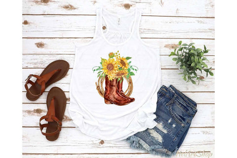 Cowgirl boots Sublimation png Sublimation _HelArtShop_