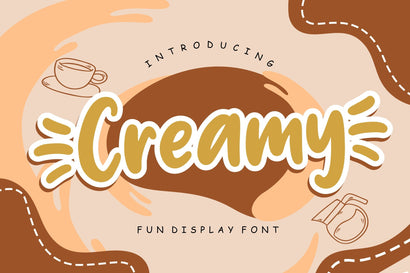 Creamy Fun Children Font Creatype Studio