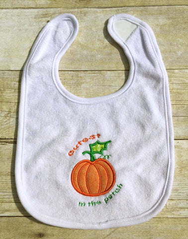 Cutest Pumpkin in the Patch Applique Embroidery Embroidery/Applique Designed by Geeks